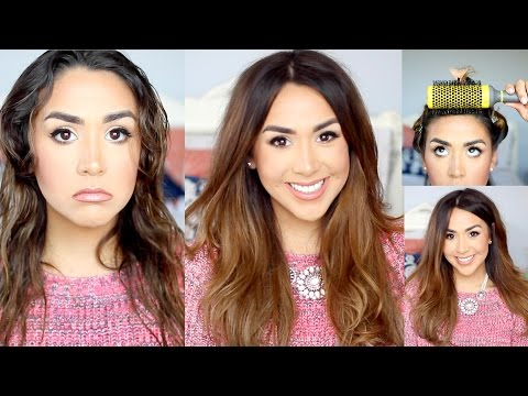 Using - Subscribe: http://bit.ly/1jNLokI Let's get this video to 4000 likes for a drugstore fall makeup tutorial! I have been getting a lot of requests to share how I do salon style blowout at home!...