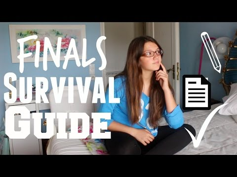 Finals Survival Guide (Study Tips and More)