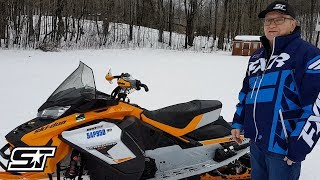 3. 2019 Ski-Doo Renegade X-RS 900 ACE Impressions & Walk Around