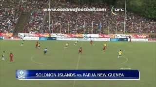 Solomon Islands have beaten Papua New Guinea 1-0 at Lawson Tama Stadium in Honiara, Solomon Islands, in Group B of the...