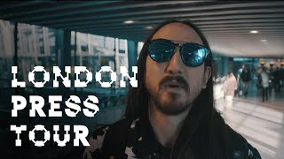 London Press Tour - On the Road w/ Steve Aoki #136