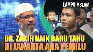 Video Dr. Zakir Naik BARU TAHU di JAKARTA ADA PEMILU GUBERNUR MP3, 3GP, MP4, WEBM, AVI, FLV November 2018