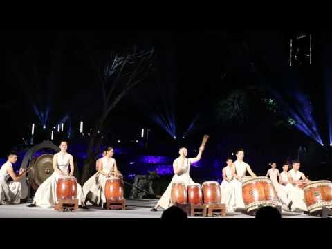 圖示:2015臺北客家義民嘉年華-優人神鼓表演