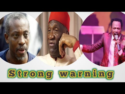 Biafra: Prophet Iginla Issues Strong Warning To Ohanaeze And Massob Group And To Those against Biafr