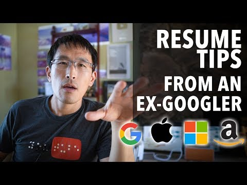 Resume Tips (from An Ex-Googler) For Millenial Software Engineers