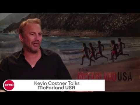 Kevin Costner Chats MCFARLAND, USA – AMC Movie News