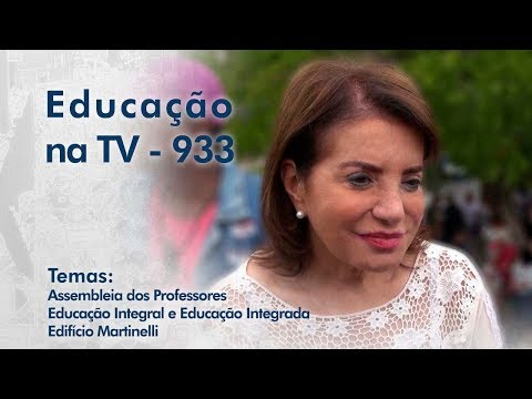 Assembleia dos Professores | Educação Integral e Integrada | Edifício Martinelli
