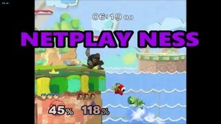Netplay Ness – An ok combo video.