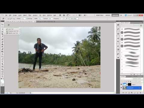 ... foto dengan photoshop wmv adobe photoshop cs5 efek sketsa pensil