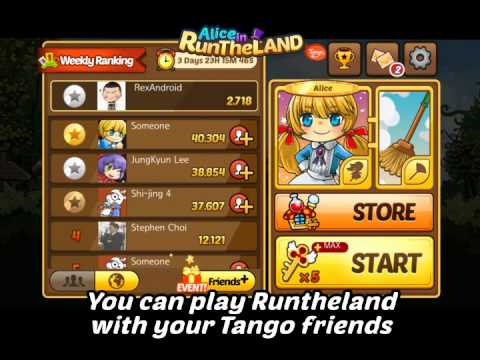 Video of Alice In RuntheLand for Tango
