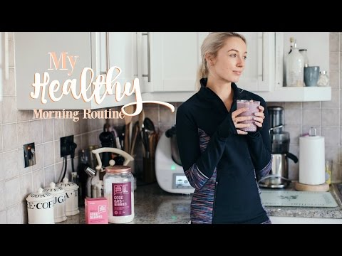MY HEALTHY MORNING ROUTINE   |    Workout With Me!   |   Fashion Mumblr AD