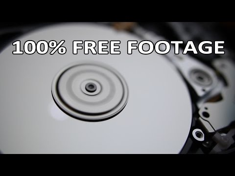 Beachfront B-Roll: Hard Drive Spinning (Free to Use HD Stock Video Footage)