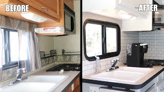 BEFORE AND AFTER RV RENOVATION (COMPLETE REMODEL)