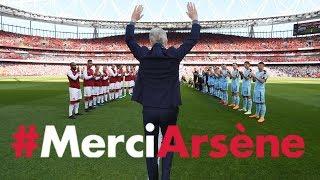 Video All the angles of Arsene Wenger's emotional farewell speech | #MerciArsene MP3, 3GP, MP4, WEBM, AVI, FLV Februari 2019