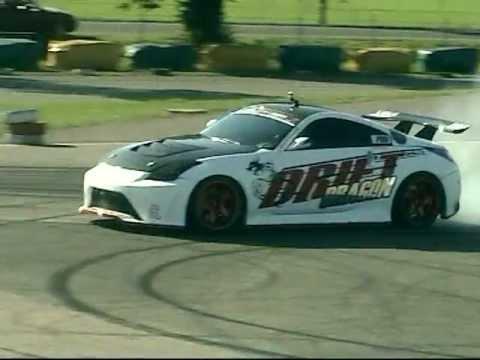 """Drift Dragon"" Rudolf Neisser - Nissan 350Z - Vysoké Mýto LMBC 2011"
