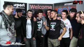 Islam Khapilaev & Chechen Brothers REAL FC in Hagen Germany