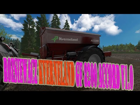 Rozsiewacz Kverneland GF 8200 Accord v1.0