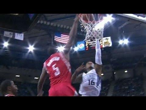 Jordan Hamilton's major-league block in first game with Rockets