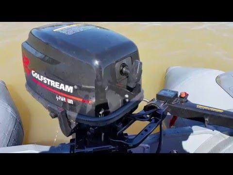 видео настройка лодочного мотора