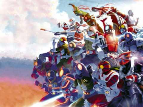 Super Hero Getter ~Kamen Rider Version~