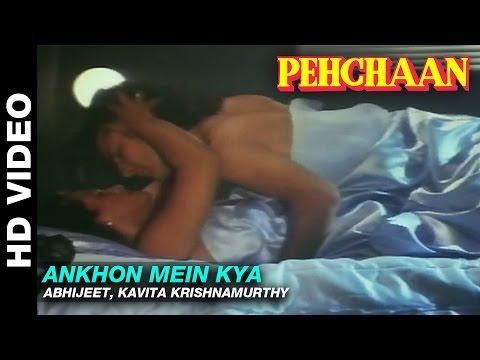 Video Ankhon Mein Kya - Pehchaan | Abhijeet, Kavita Krishnamurthy | Saif Ali Khan & Madhoo download in MP3, 3GP, MP4, WEBM, AVI, FLV January 2017