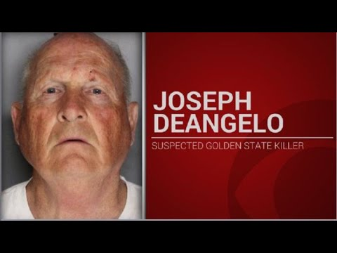 """Police arrest, charge man suspected to be """"Golden State Killer"""""""