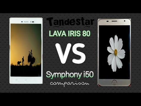 Symphony I50 Vs LAVA Iris 80 Comparison | SPEED TEST | BANGLA | TANDESTAR | HD