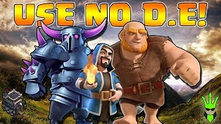 Video THIS ARMY USES NO DARK ELIXIR! - TH9 DE Farming - Clash of Clans - Let's Play TH9 Episode 10 MP3, 3GP, MP4, WEBM, AVI, FLV Oktober 2017