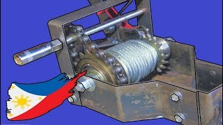 Video Hand/Drill Crank Winch With Bicycle Parts MP3, 3GP, MP4, WEBM, AVI, FLV April 2019