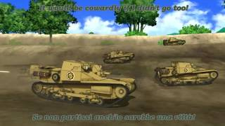 Video Girls Und Panzer - AMV - Anzio - Addio, mia bella addio! MP3, 3GP, MP4, WEBM, AVI, FLV Juli 2018