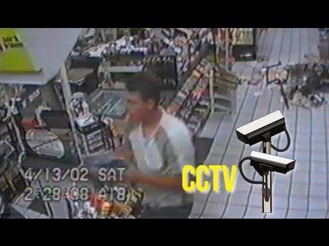 Porn thief - Funny stupid criminal steals porno mags on cam