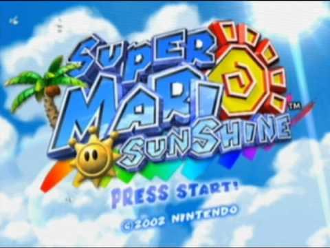 Super Mario Sunshine OST - F.L.U.D.D, & Mario (Story)