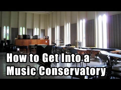 How to get into a Music School