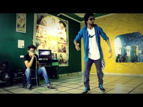 Fusion of  beatboxing nd free style dancing