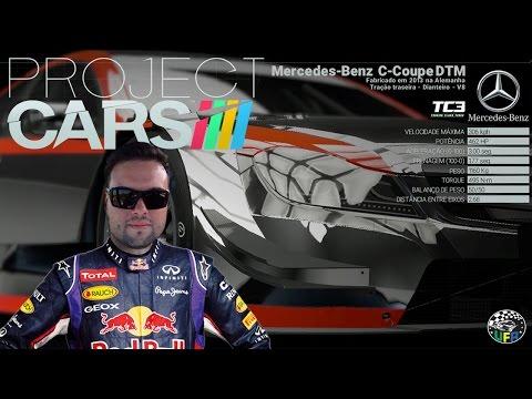 DTM Mercedes C-Coupe & Project Cars !! Corrida em Watkins Glen