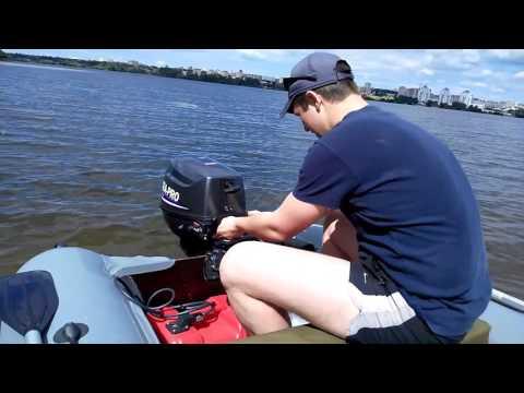 как запустить лодочный мотор первый разница