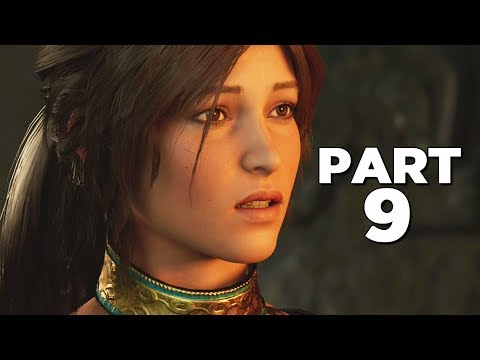 SHADOW OF THE TOMB RAIDER Walkthrough Gameplay Part 9 - HIDDEN CITY (PS4 PRO)