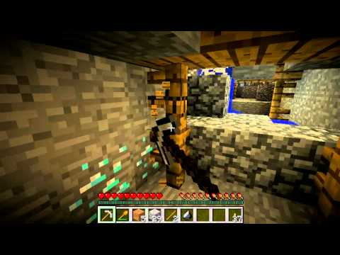 Minecraft seed - Diamonds and Chests!! 10 minutes from spawn and 17 diamonds!!