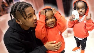 I Took My 2 Year Old Nephew On An Expensive Shopping Spree!! (I Got Baby Fever)