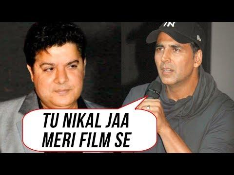 Akshay Kumar SACKS Sajid Khan From Housefull 4  Tw
