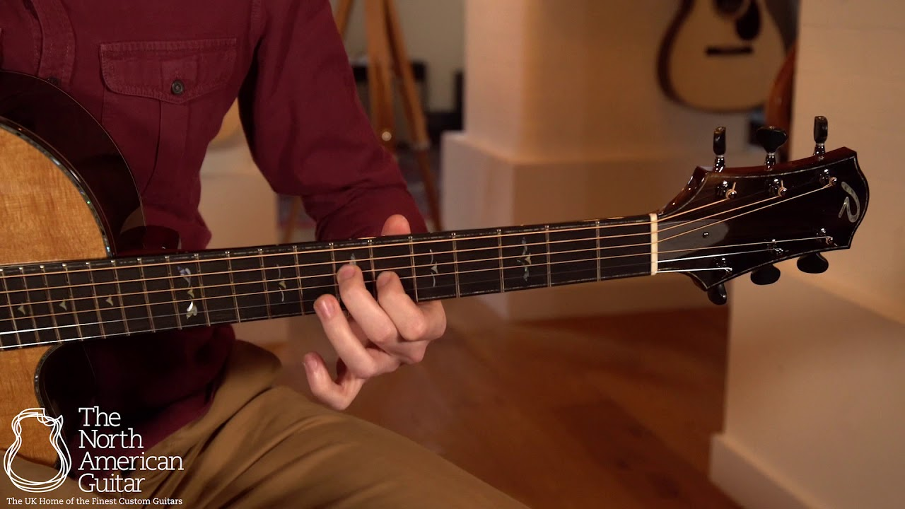 Ryan Nightingale Grand Soloist Acoustic Guitar Played By Will McNicol (Part Two)