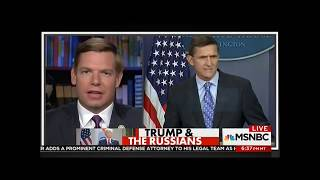 Rep. Swalwell on MSNBC discussing latest news in Russia investigation