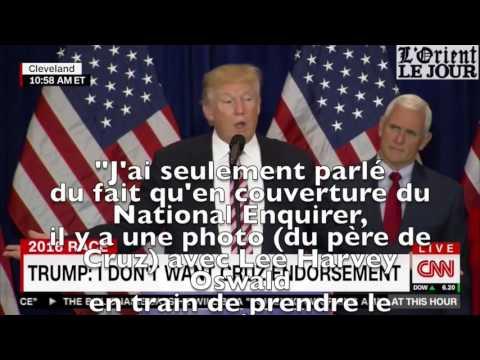 Neuf fois où Trump a dit qu'il n'avait pas dit ce qu'il a dit