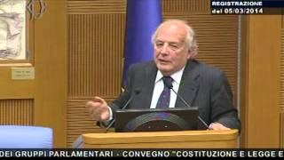 Costituzione e legge elettorale - Secondo intervento dell\'On. Bianco