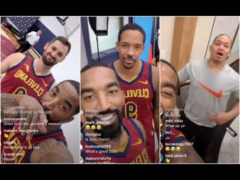 JR Smith thanks LeBron for not being at Cavs media day, trolls everybody he finds in his way