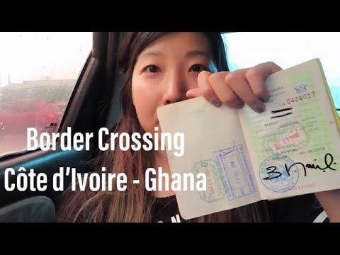 Border Crossing - Côte d'Ivoire into Ghana (via Noe-Elubo border)