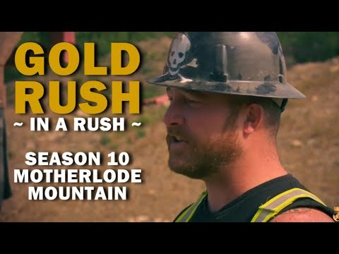 Gold Rush (In a Rush) | Season 10, Episode 7 | Motherlode Mountain