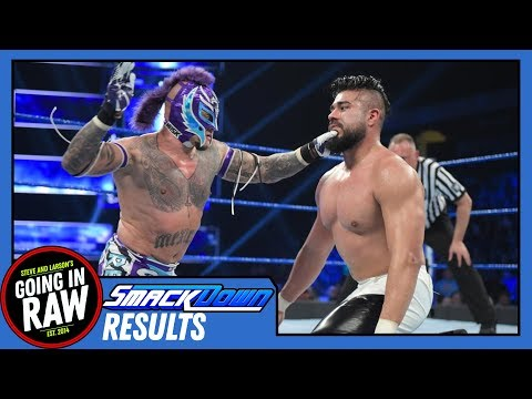 WWE SMACKDOWN 1/15/19 Review & Full Results | Rey Vs. Andrade Classic! | Going In Raw Podcast