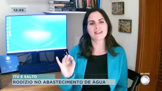 Rodízio no abastecimento de água em Itu e Salto