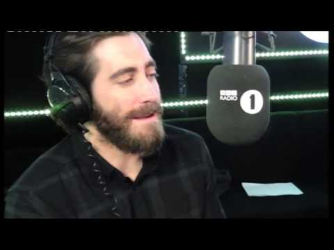 Jake Gyllenhaal - Jake Gyllenhaal dropped by the Radio 1 Breakfast show to challenge Grimmy to grow a beard and answer listeners questions.